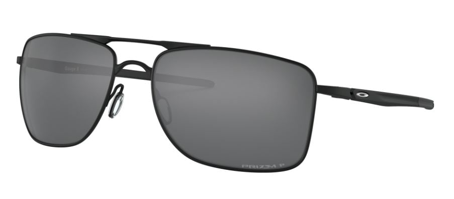 Oakley Gauge 8 Matte Black w/Prizm Black Polarised OO4124-0257