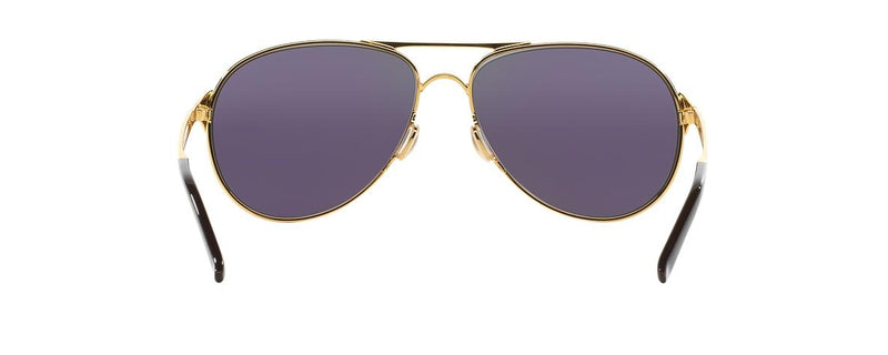 Oakley Women's Caveat Gold Jade Iridium Sunglasses OO4054-15