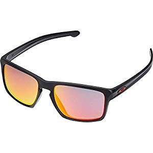 Oakley Men's Catalyst Ferrari Matte Black - Ruby Iridium OO9272-07