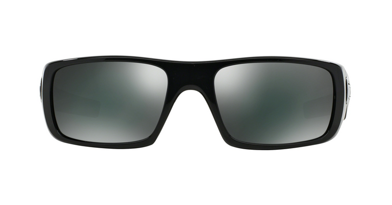 Oakley Crankshaft Sunglasses Polished Black/Black Irid, One Size - OO9239-01