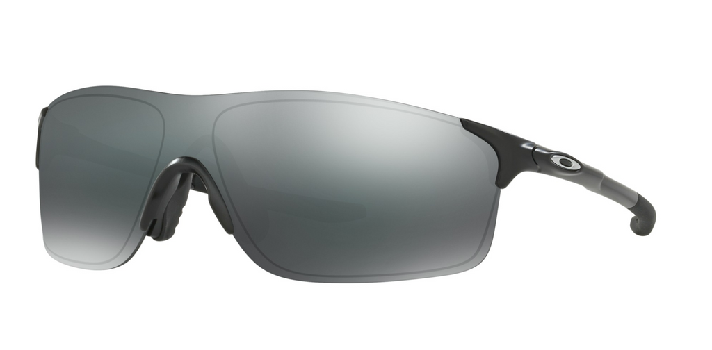 Oakley Evzero Pitch Sunglasses Matte Black/Black Iridium - OO9383-0138
