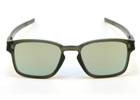 Oakley Men's Latch SQ Sunglasses - Matte Olive Ink/Emerald Iridium OO9353-08