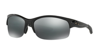 Oakley Women's Commit SQ Polished Black/Black Iridium Sunglasses OO9086-03