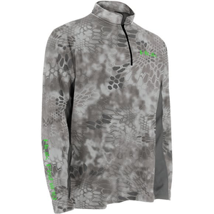 Huk Men's Kryptek ICON 1/4 Zip Long Sleeve Shirt