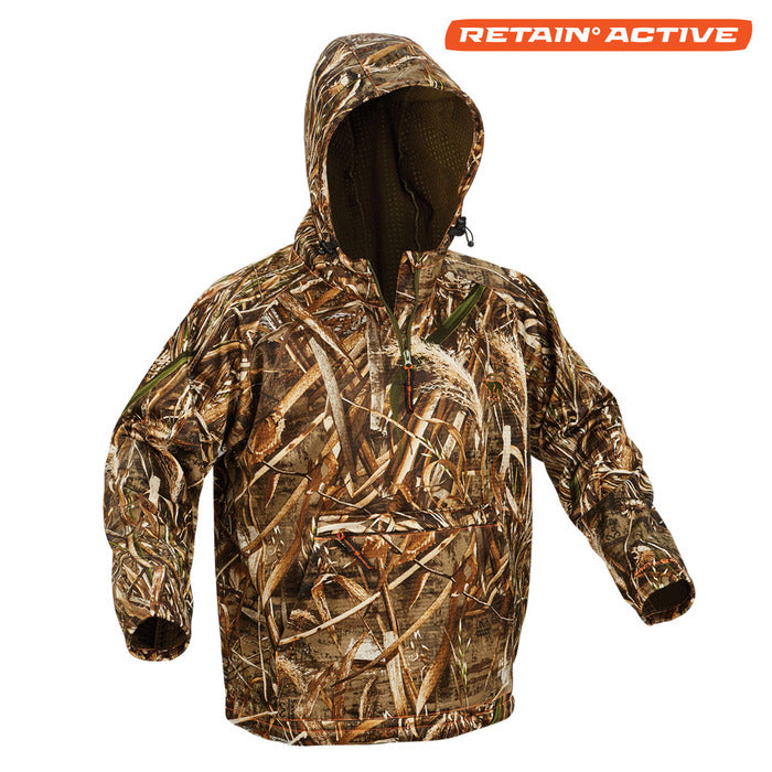 Heat Echo Light Performance Hoodie - Realtree Max-5