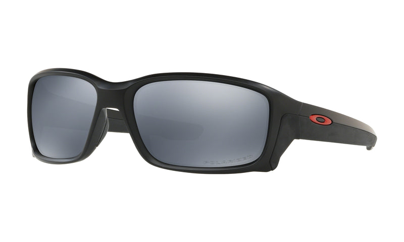 Oakley Men's Standard Issue Straightlink Black Sunglasses with Polarized Lens - OO9331-2558