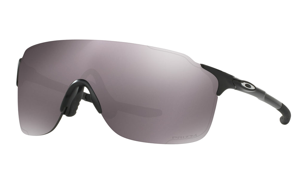 Oakley Evzero Stride Sunglasses Polished Black Prizm Daily Polarized OO9386-0638