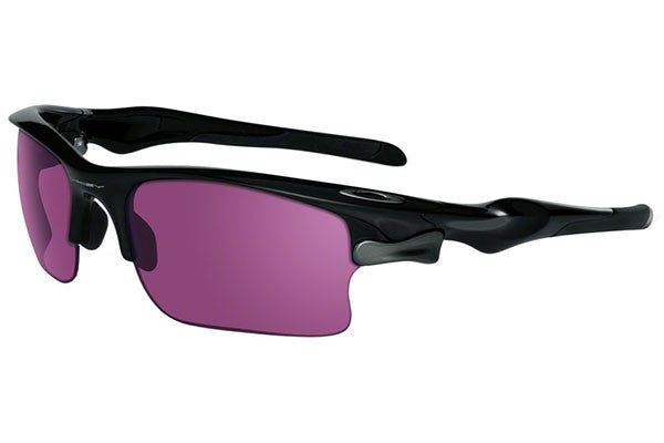 Oakley Fast Jacket XL Sunglasses Polished Black w/G30-Grey, OO9156-19