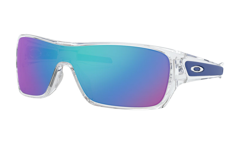 Oakley Men's Turbine Rotor Sunglasses Pol Clear W/Sapphire Irid, OO9307-10 - Men's