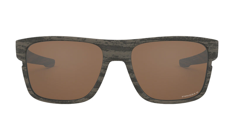 Oakley Crossrange Sunglasses Woodgrain Collection Prizm Tungsten Polarized OO9361-0757