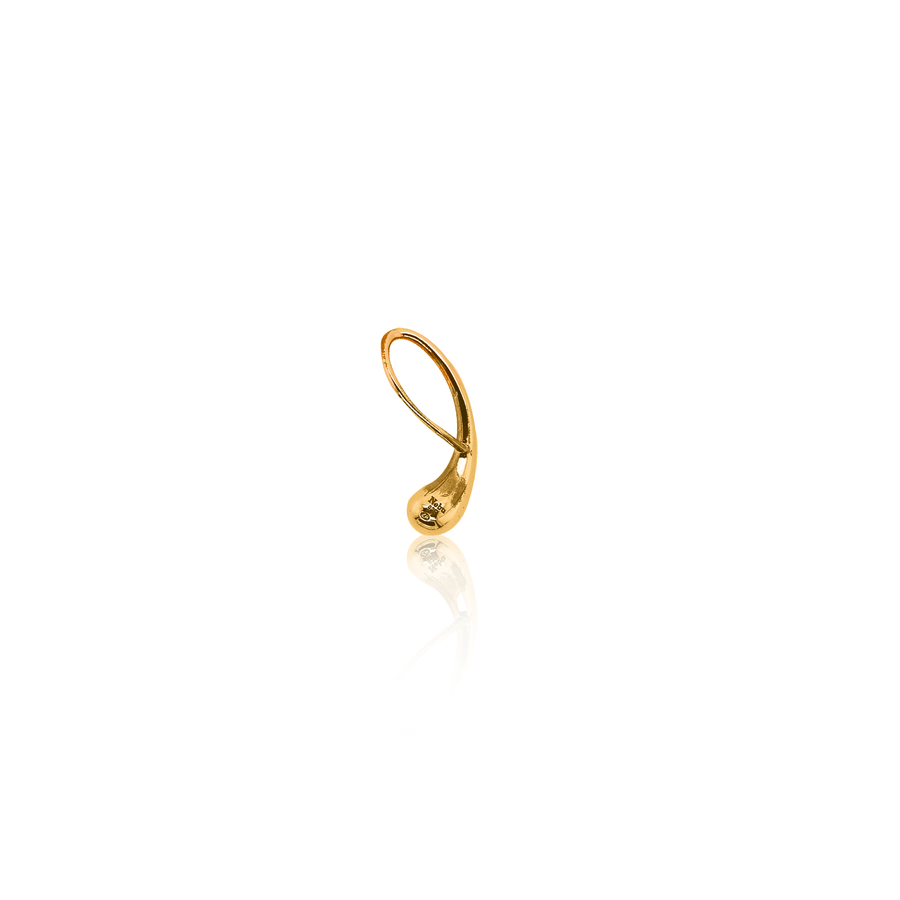 24Kt Yellow Gold Water Droplet Pendant