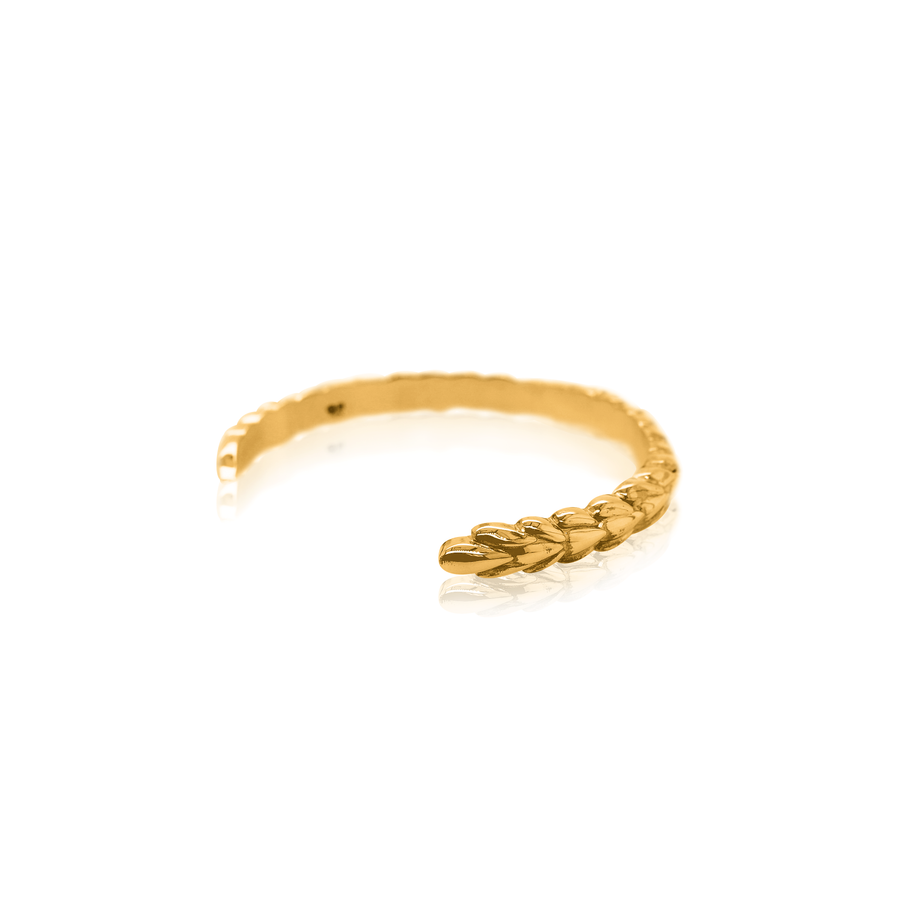 24Kt Yellow Gold Pangolin Wrist Cuff