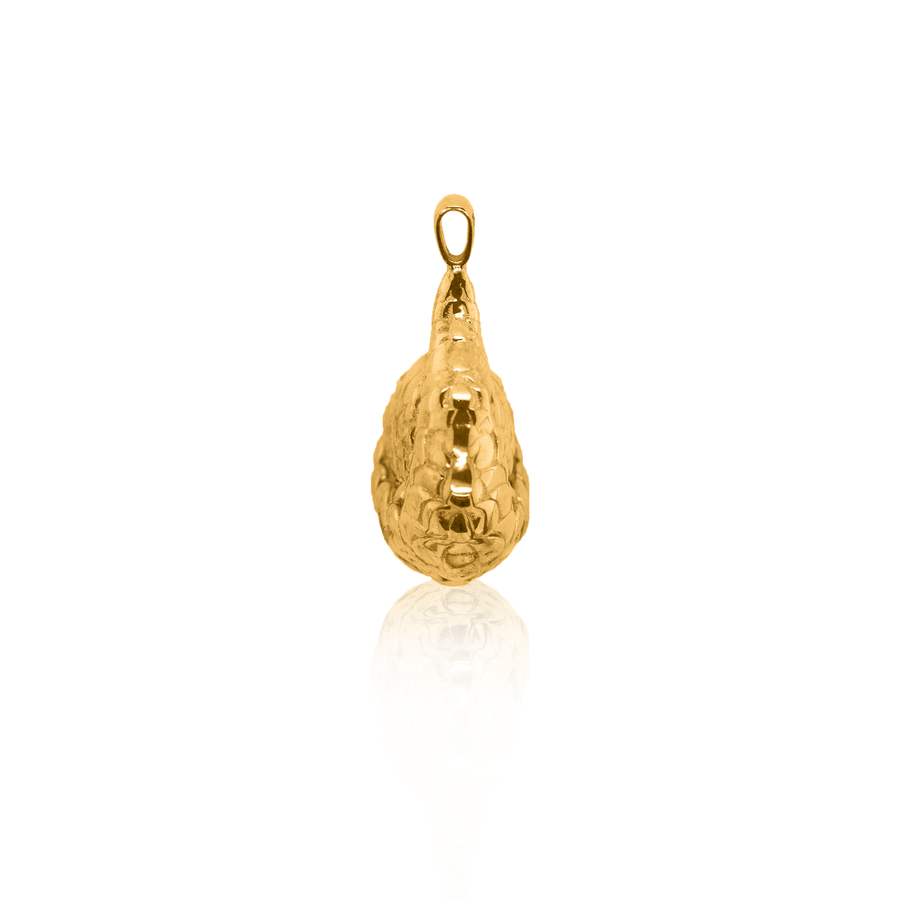 24Kt Yellow Gold Pangolin Pendant