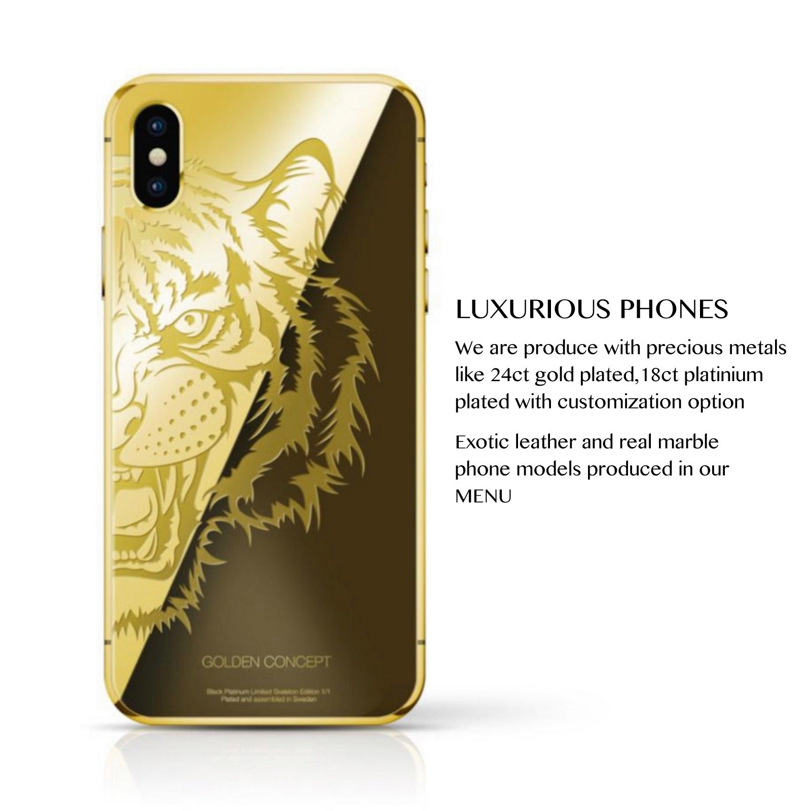 hot sale online 17cfb 39199 Golden Concept: Luxury Phones , Cases , Leather Goods