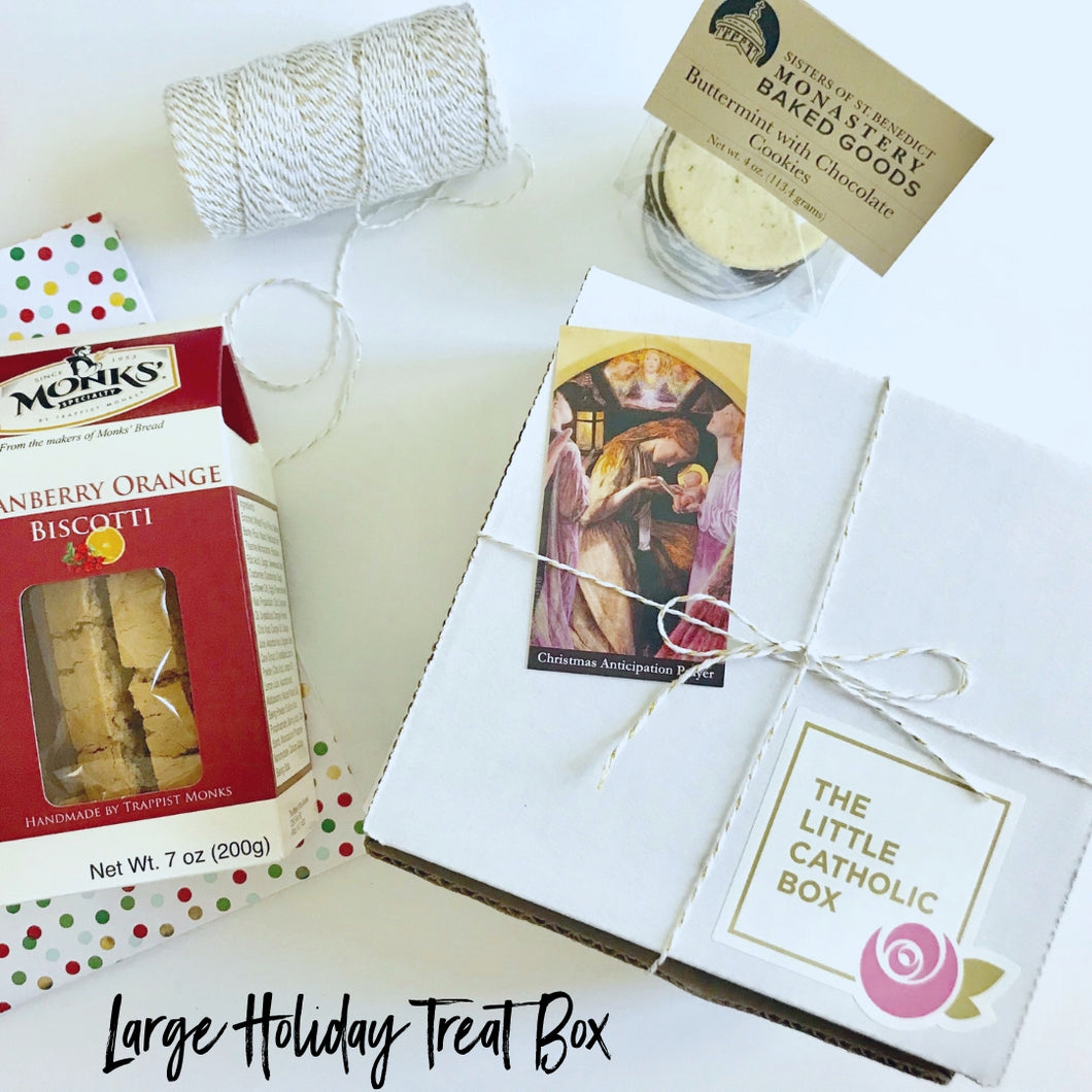 Large Holiday Treat Box