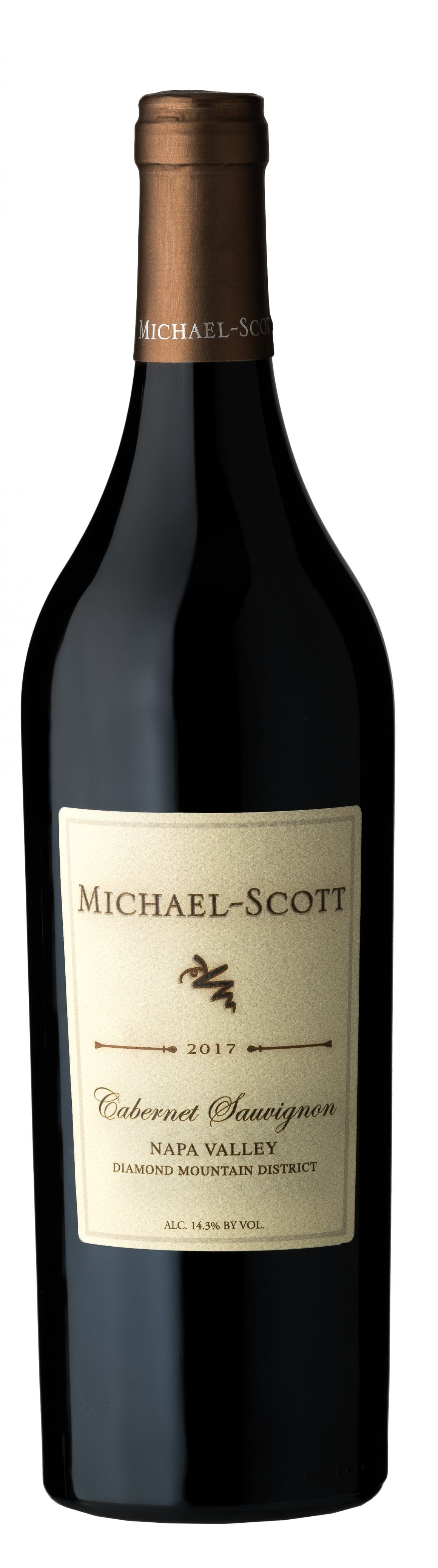 Michael-Scott 2017 Diamond Mountain-Napa Valley Cabernet Sauvignon