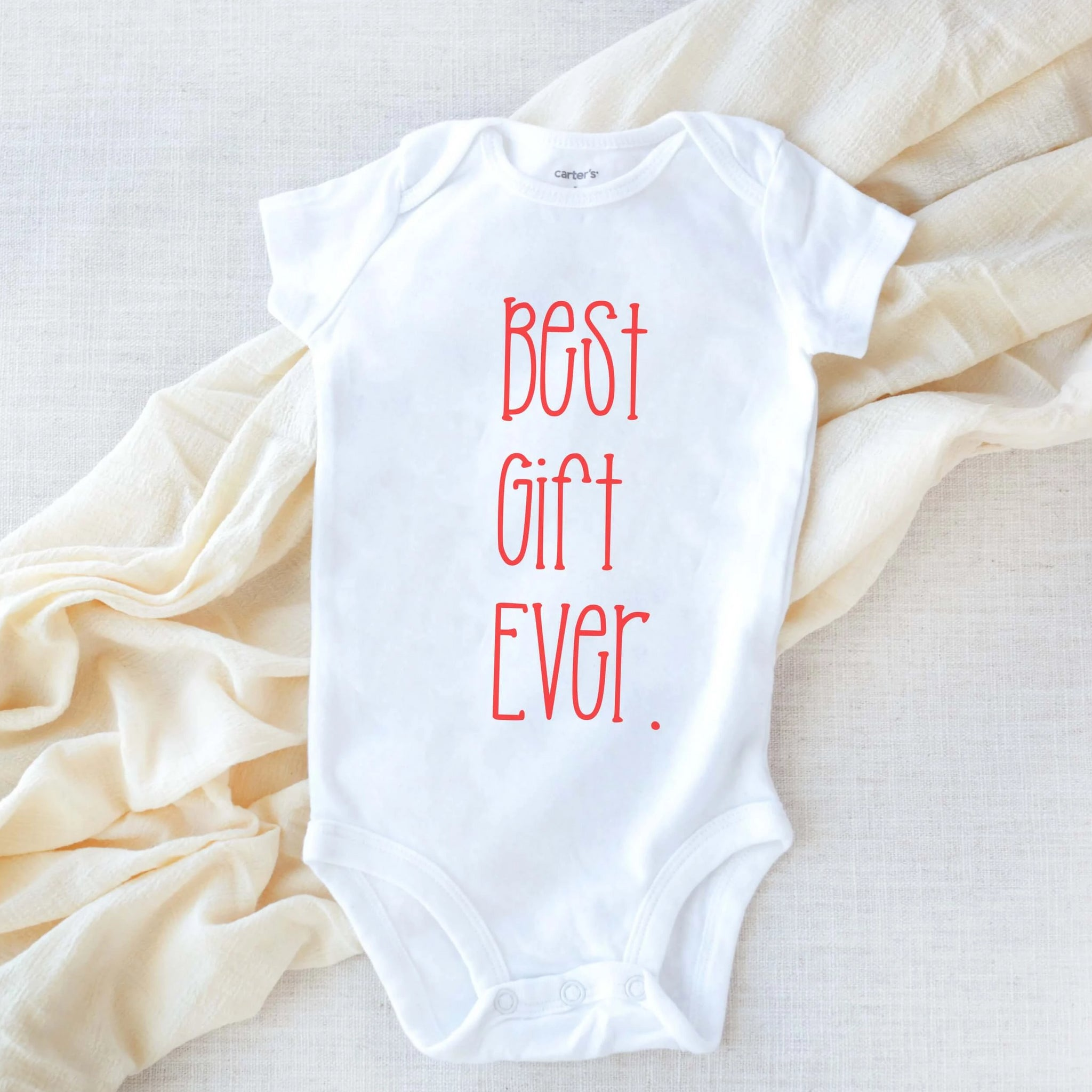And Then There Were Three Pregnancy Announcement Bodysuit Newborn Baby Gift