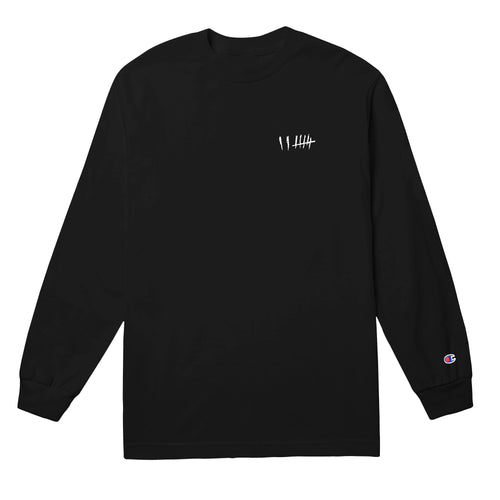 BLTN Tour x Champion Long Sleeve Tee