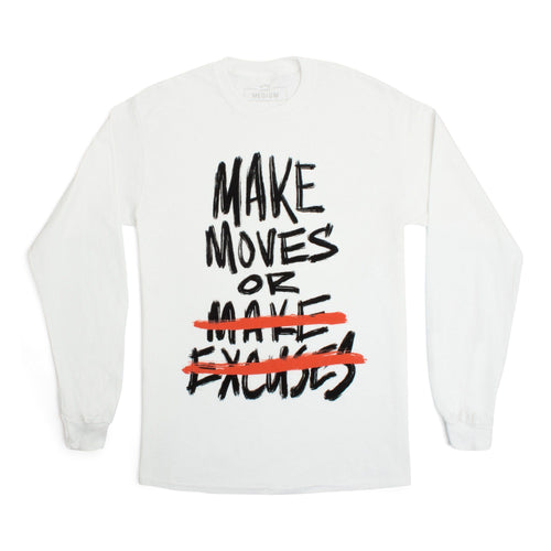 Andy Mineo 'Make Moves' Long Sleeve Tee