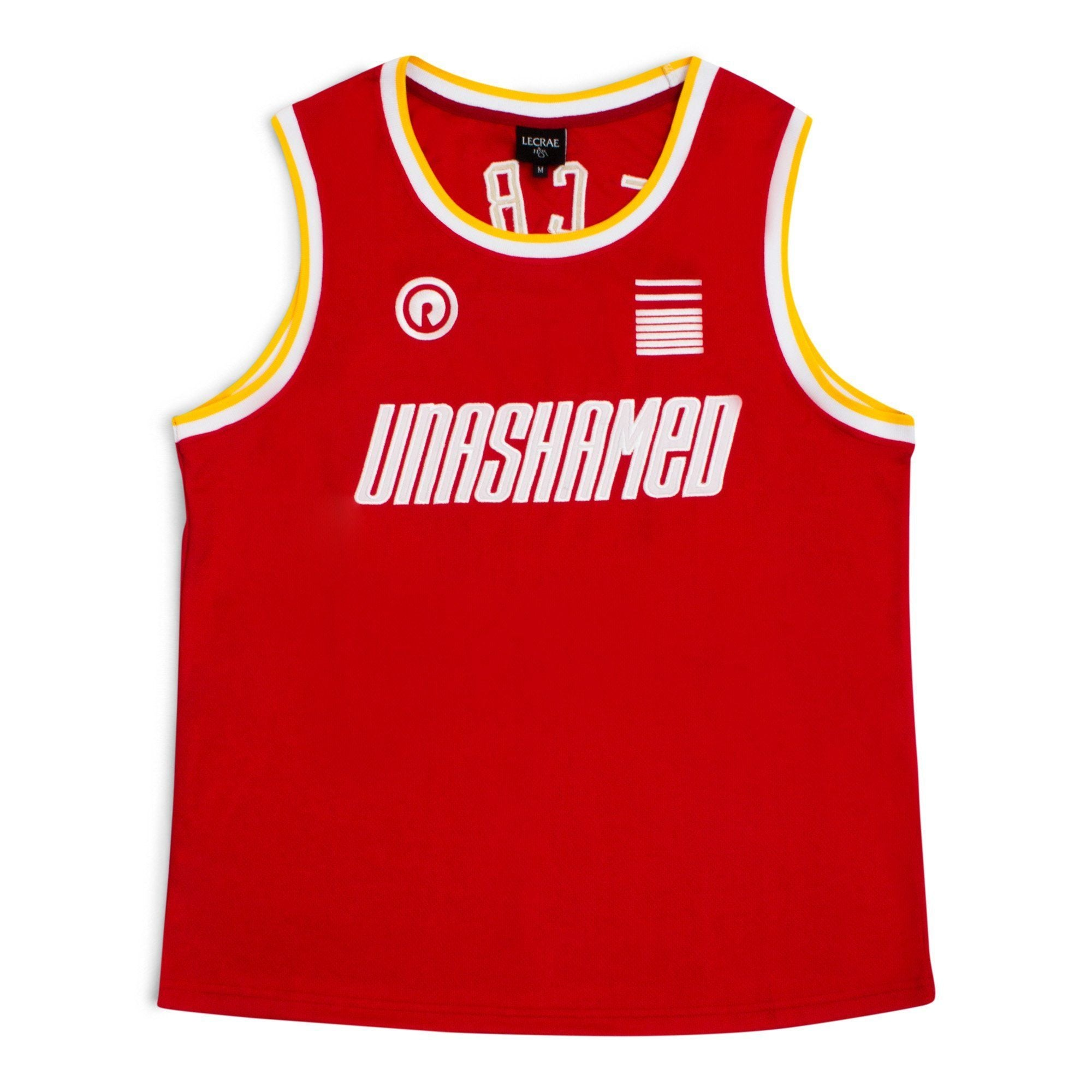 Lecrae '116 Unashamed' Basketball Jersey