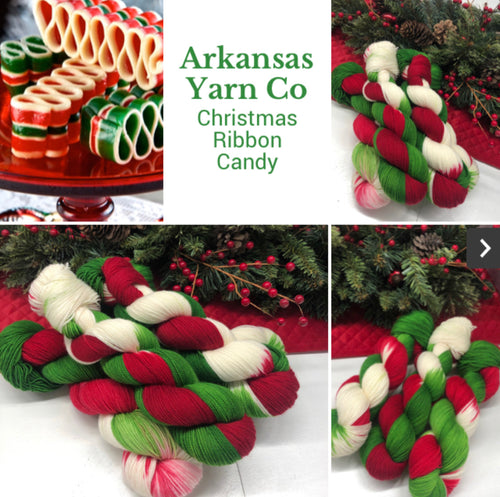 Christmas Ribbon Candy
