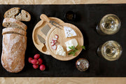 Tabla de queso Brie (RubberWood)