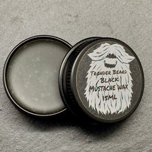 Load image into Gallery viewer, Black Mustache Wax 15ml