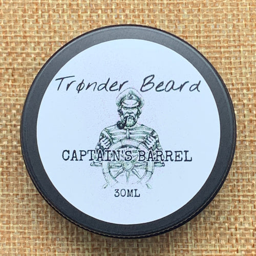 Captain's Barrel Beard Balm