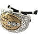 Western Hide Your Crazy 12 Gauge Shotgun Shell Adjustable Cuff Bracelet