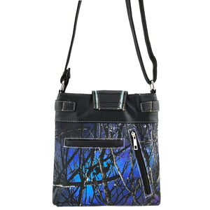 Camouflage Bling Shine Floral Buckle Crossbody