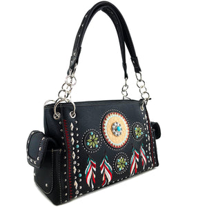 Dream Catcher Feather Handbag