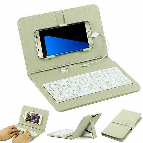 Wired Keyboard Flip Case For Your Samsung Galaxy Mobile Phone - Galaxy Card Cases