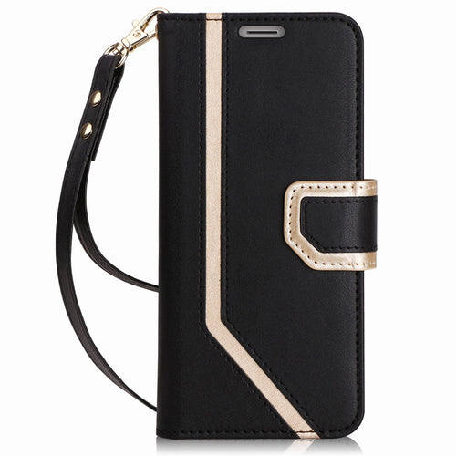 Galaxy S9 Case, [Inside Makeup Mirror Leather Wallet Case] - Galaxy Card Cases