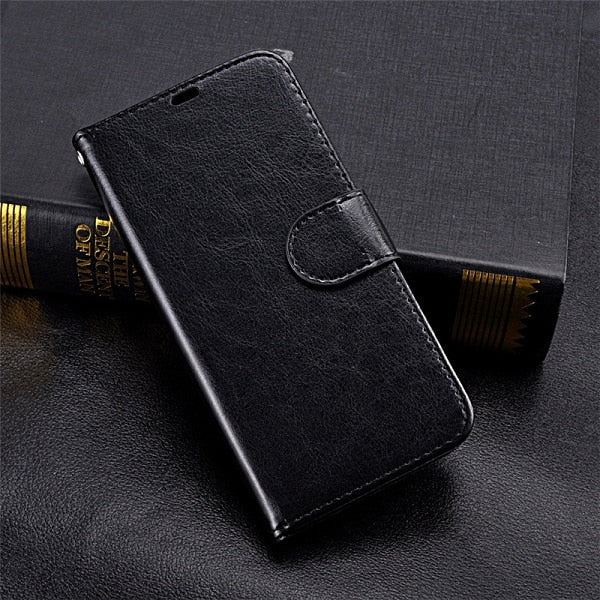 Standard Leather-Flip Wallet Case - Galaxy Card Cases