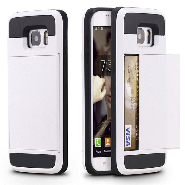 Defender Card-Slider Case - Galaxy Card Cases