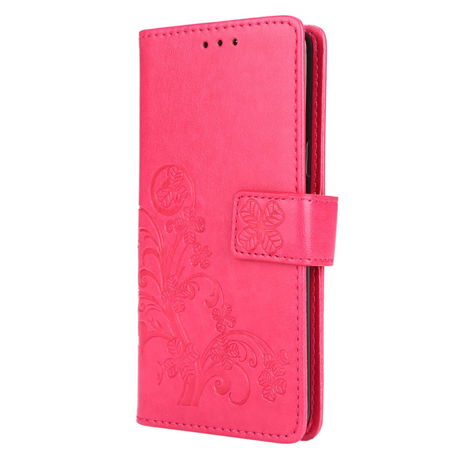 Flip Cover Leather Wallet Card Holder for Your Galaxy S9 Smartphone - Galaxy Card Cases