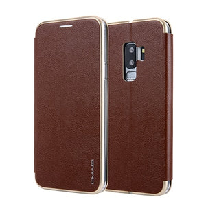 Magnetic-Flip Wallet Case - Galaxy Card Cases