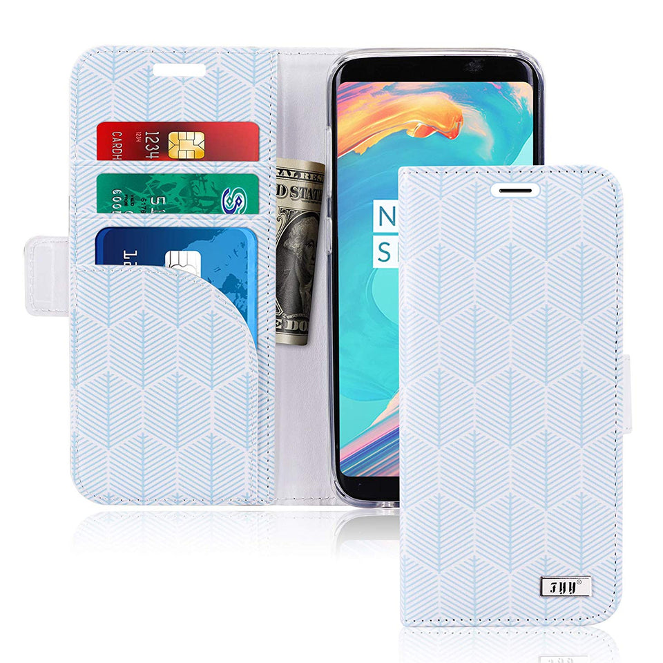Leather, Handmade [RFID Blocking] Wallet Case with Kickstand for Samsung Galaxy S9 - Galaxy Card Cases