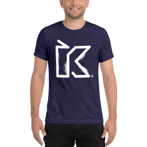 Kush Supply Distressed K Triblend Tee - Dark Colors