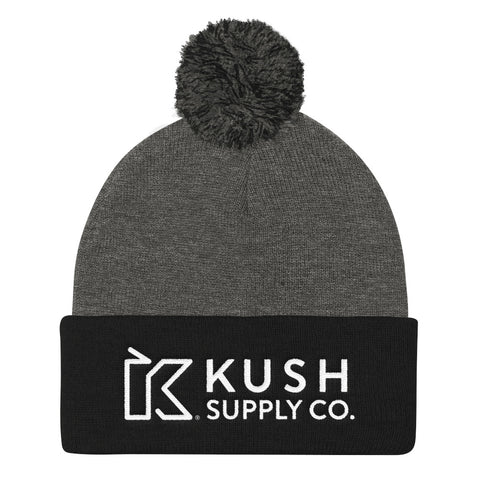 Kush Supply Co Pom Pom Knit Cap