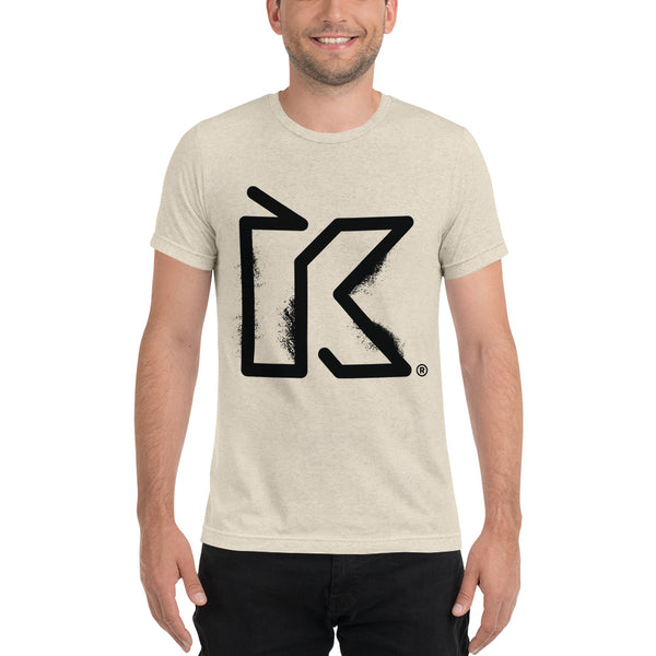 Kush Supply Distressed K Triblend Tee - Light Colors