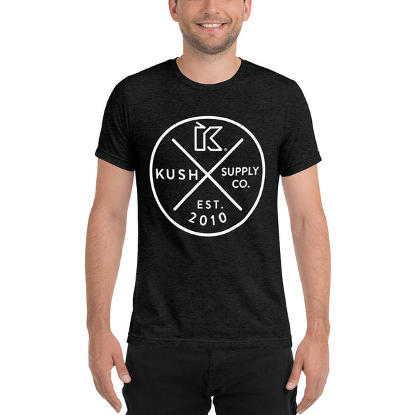 Kush Supply Circle Triblend Tee - Dark Colors