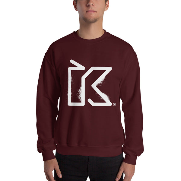 Kush Supply Co Distressed Unisex Crew Neck Sweatshirt