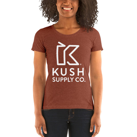 Kush Supply Co Ladies Triblend Tee - Colors