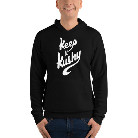 """Keep it Kushy"" Unisex Pullover Hoodie"