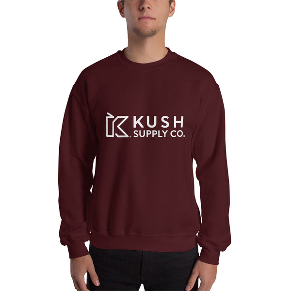 Kush Supply Co Unisex Crew Neck Sweatshirt