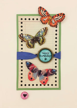 BUTTERFLY FANTASTIC ART CARD KIT