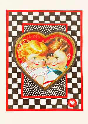 VALENTINE FANTASTIC ART CARD KIT