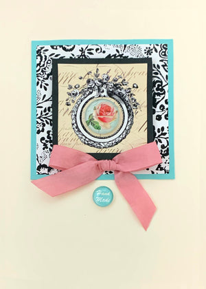SILHOUETTE FANTASTIC ART CARD KIT