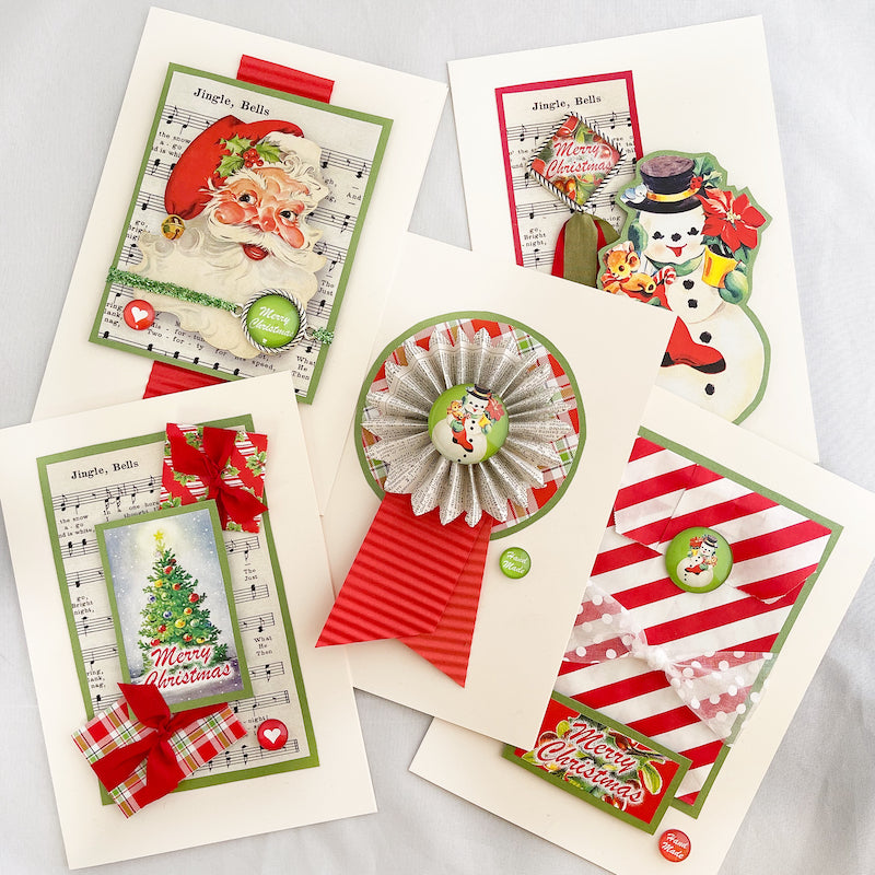 LET IT SNOW! FANTASTIC ART CARD KIT